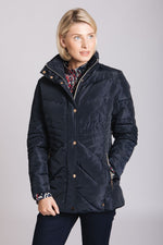 Midnight-Blue Quilt Jacket