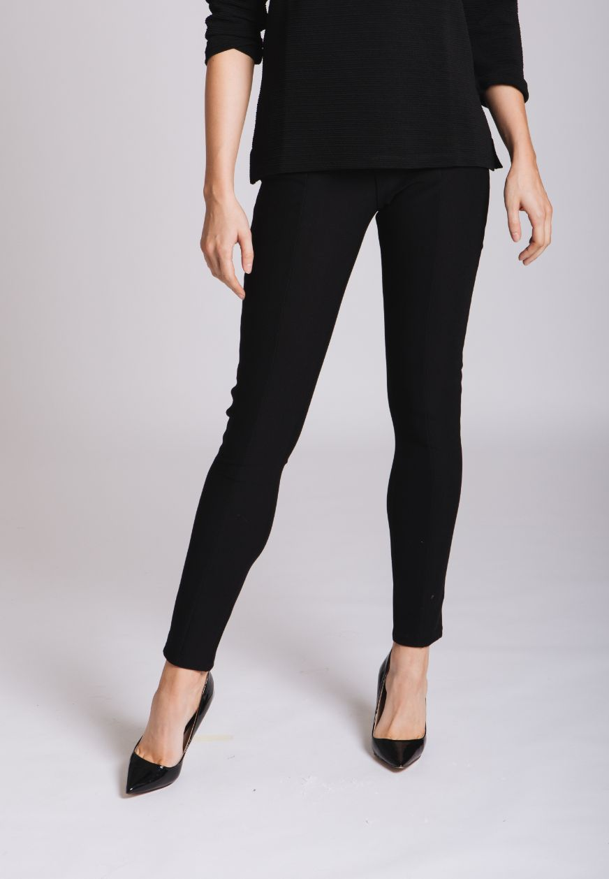 Ponte Roma Trousers: Black
