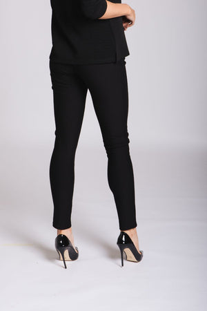 Stretch Trousers: Black