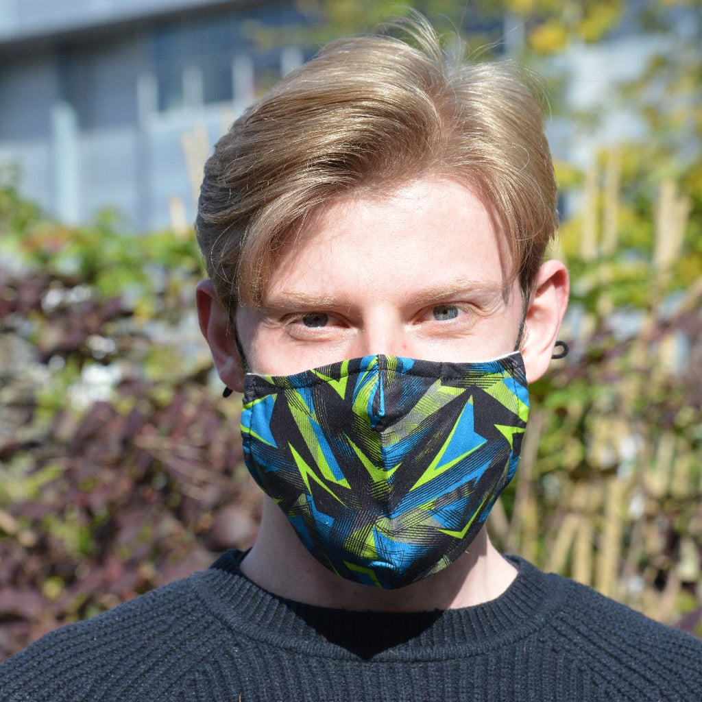 Adults - Urban Geo - Reusable Barrier Mask