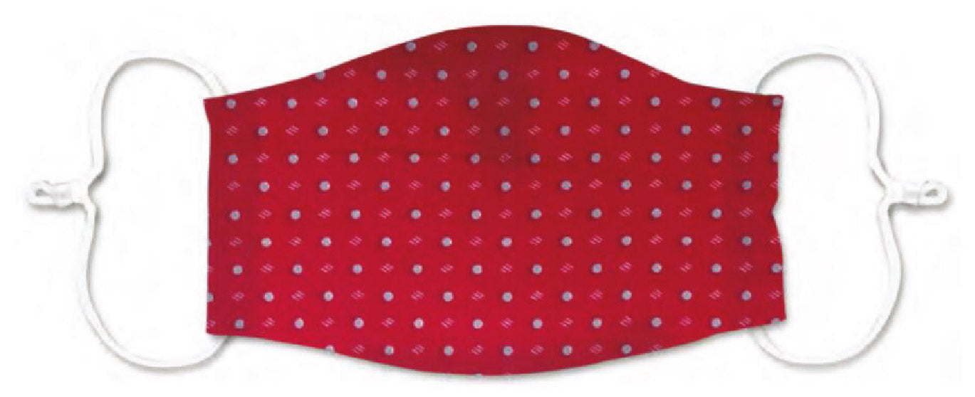 Adults - Red Spot unisex - Reusable Barrier Mask