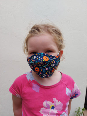 Junior Size - Multi Mask - Reusable Barrier Mask - HALLOWEEN