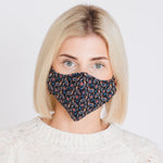 Adults - Peacock Paisley - Reusable Barrier Mask