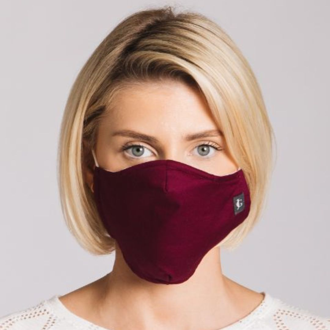 Adults - Damson - Reusable Barrier Mask