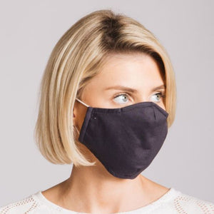 Adults - Grey - Reusable Barrier Mask