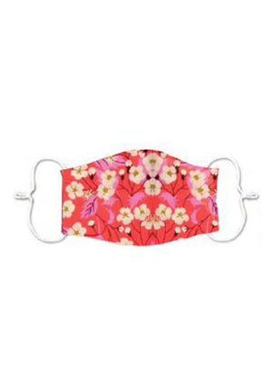 Adults - Pink cherry blossom- Reusable Barrier Mask