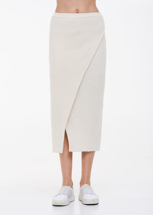 BROOKLYN skirt off white