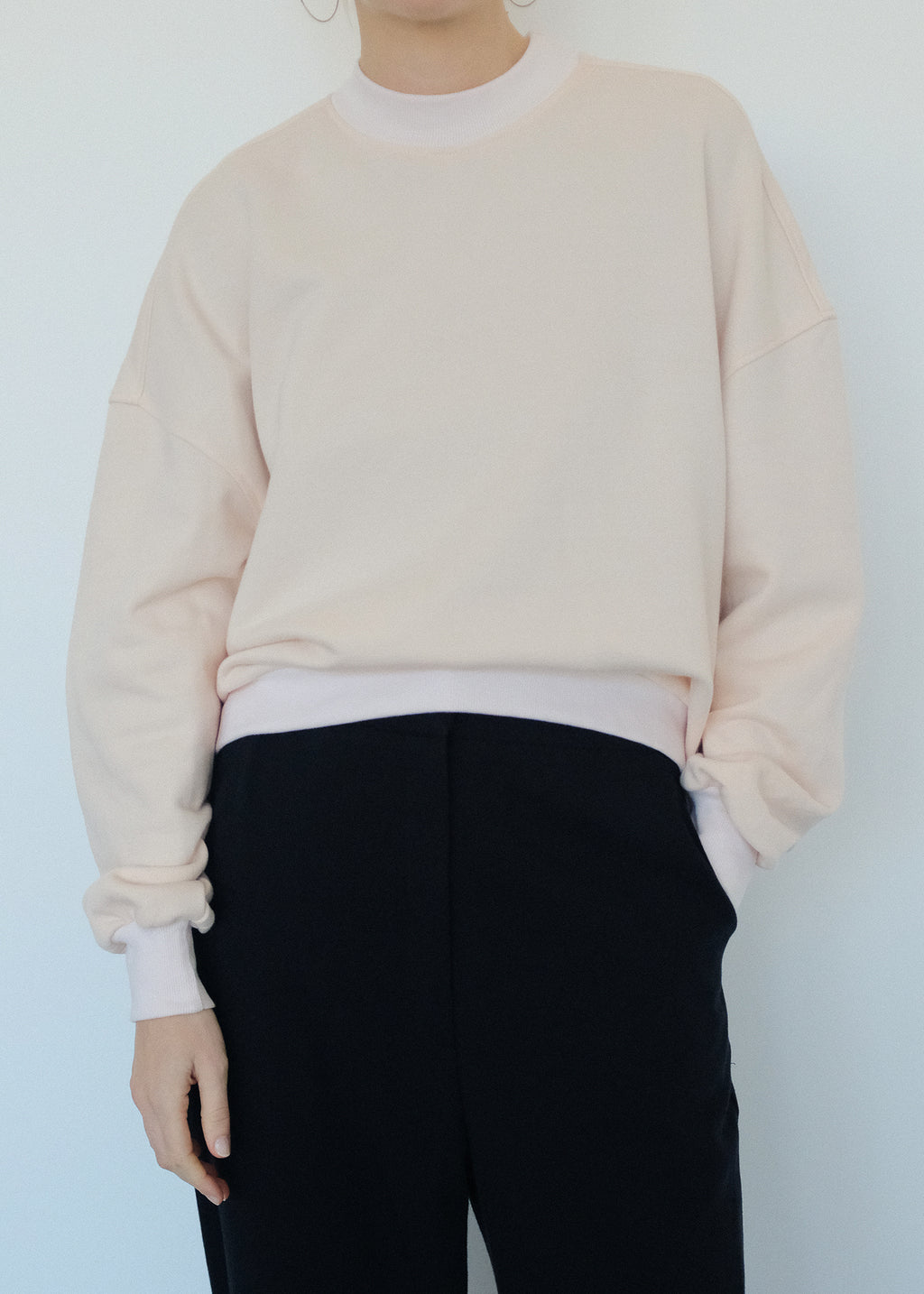 DEMI pullover pale pink