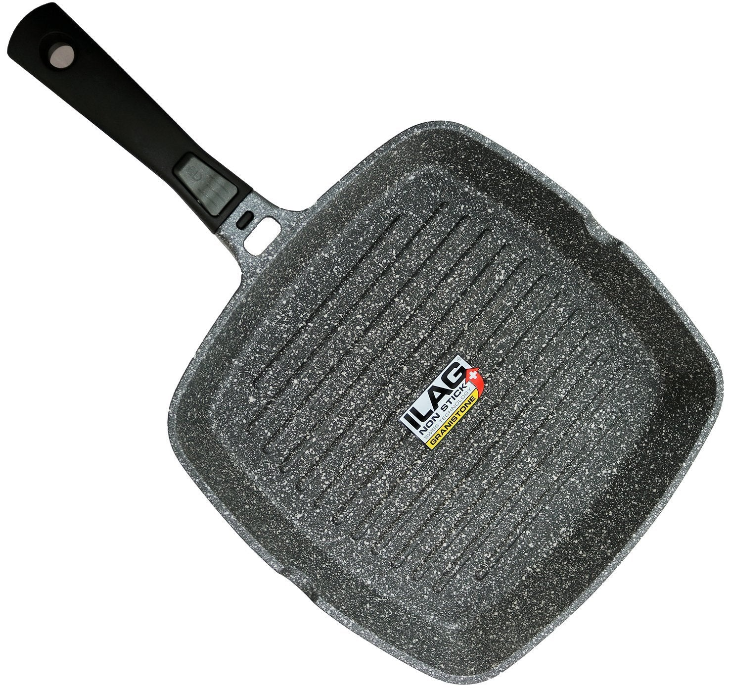 Coninx Grill Pan With Detachable Handle | 100% PTFE and PFOA Free
