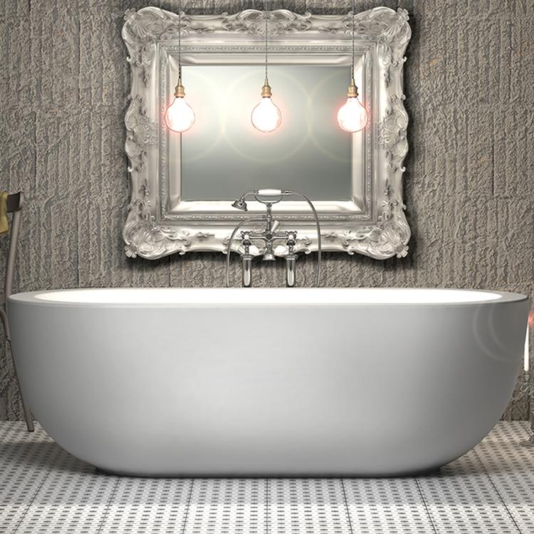 Charlotte Edwards 1800mm Olympia Freestanding Bath - Leeds Clearance Bathrooms