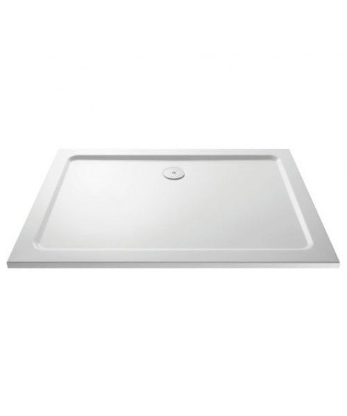 40mm Pearlstone Low Profile Rectangular Shower Trays in Choice of Sizes - Leeds Clearance Bathrooms