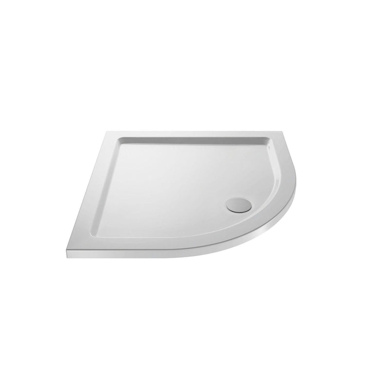 40mm Pearlstone Low Profile Quadrant & Offset Shower Trays in Choice of Sizes - Leeds Clearance Bathrooms