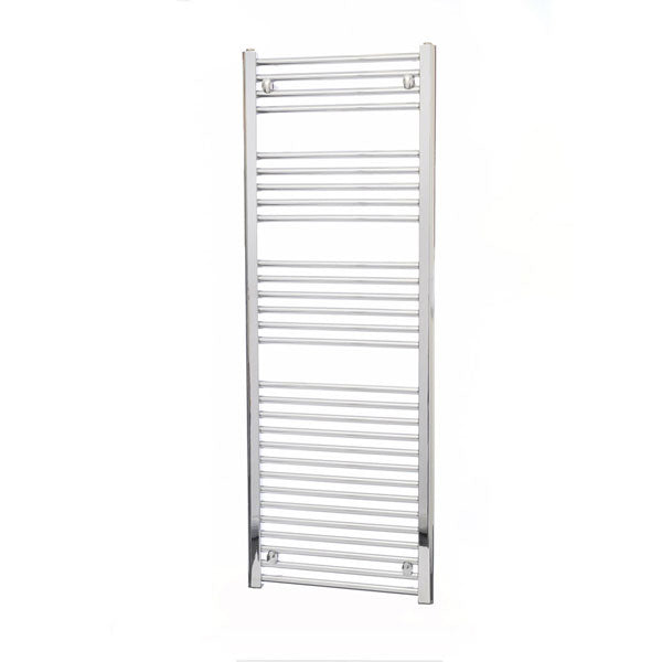 Chrome Towel Rail 600x1800, Straight or Curved - Leeds Clearance Bathrooms