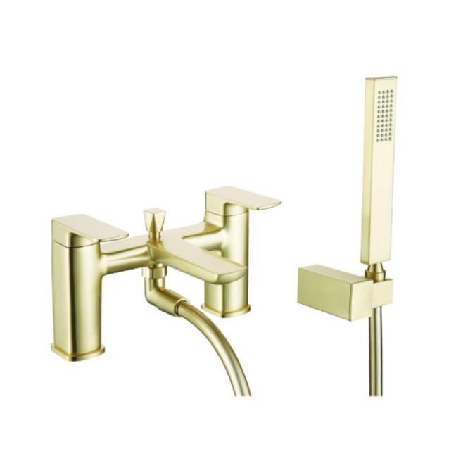 Finissimo Bath Shower Mixer Brushed Brass