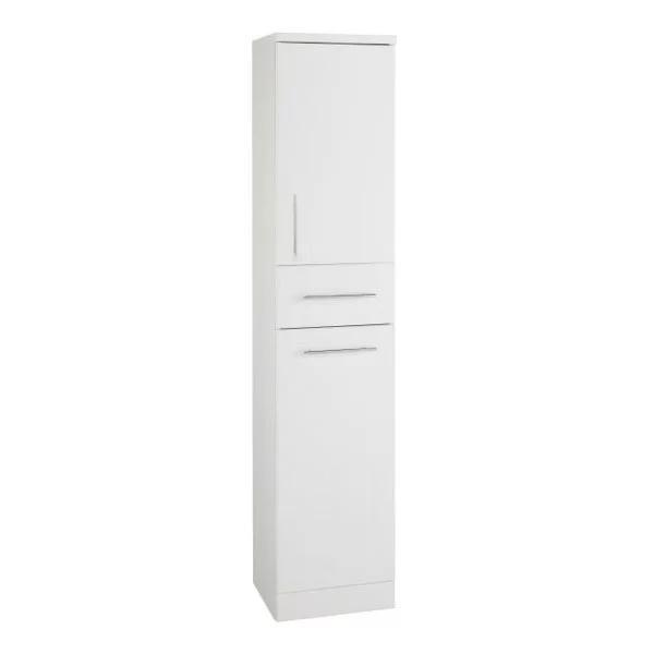 Encore Tallboy Storage Unit 330mm White Gloss