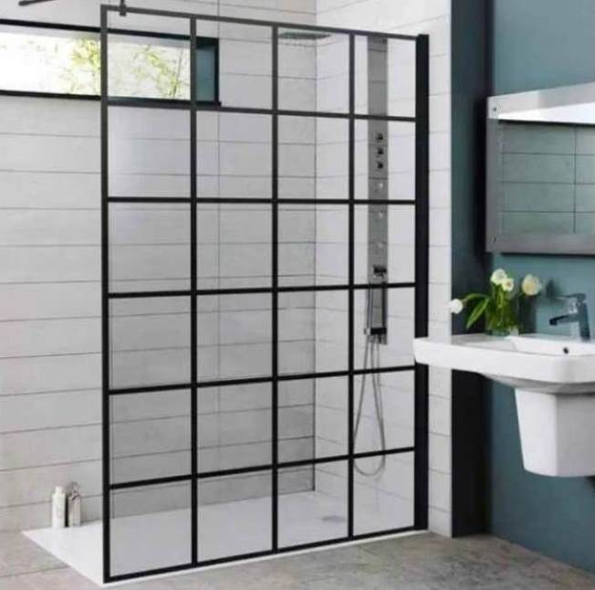 Krittal Wetroom/Walk In Screen - choice of sizes