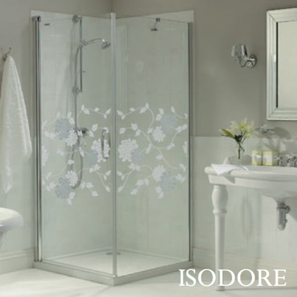 Laura Ashley 900mm Swing Door and 1000mm Side Panel Isodore