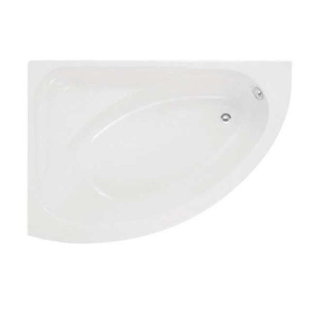 Orlando Offset Corner Bath 1500 x 1020mm