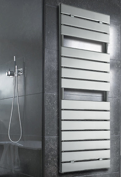 Palermo Designer Chrome Towel Rail 500 x 1213mm
