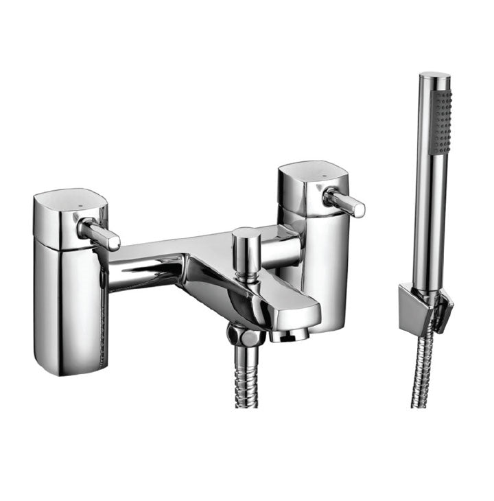 Forme Bath Shower Mixer Chrome