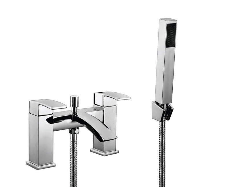 Descent Bath Shower Mixer Chrome