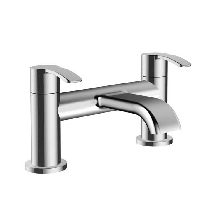 Lorenzo Bath Filler Chrome