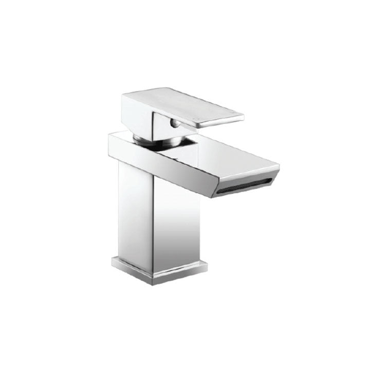 Eve Mono Basin Mixer Chrome