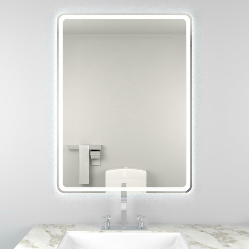 Alder 800 x 600mm Led Mirror Demister