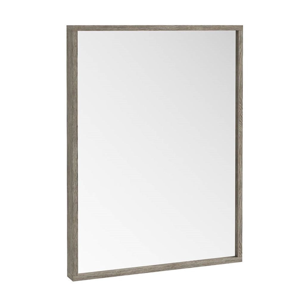 Ambience Grey Oak Mirror 800 x 600mm