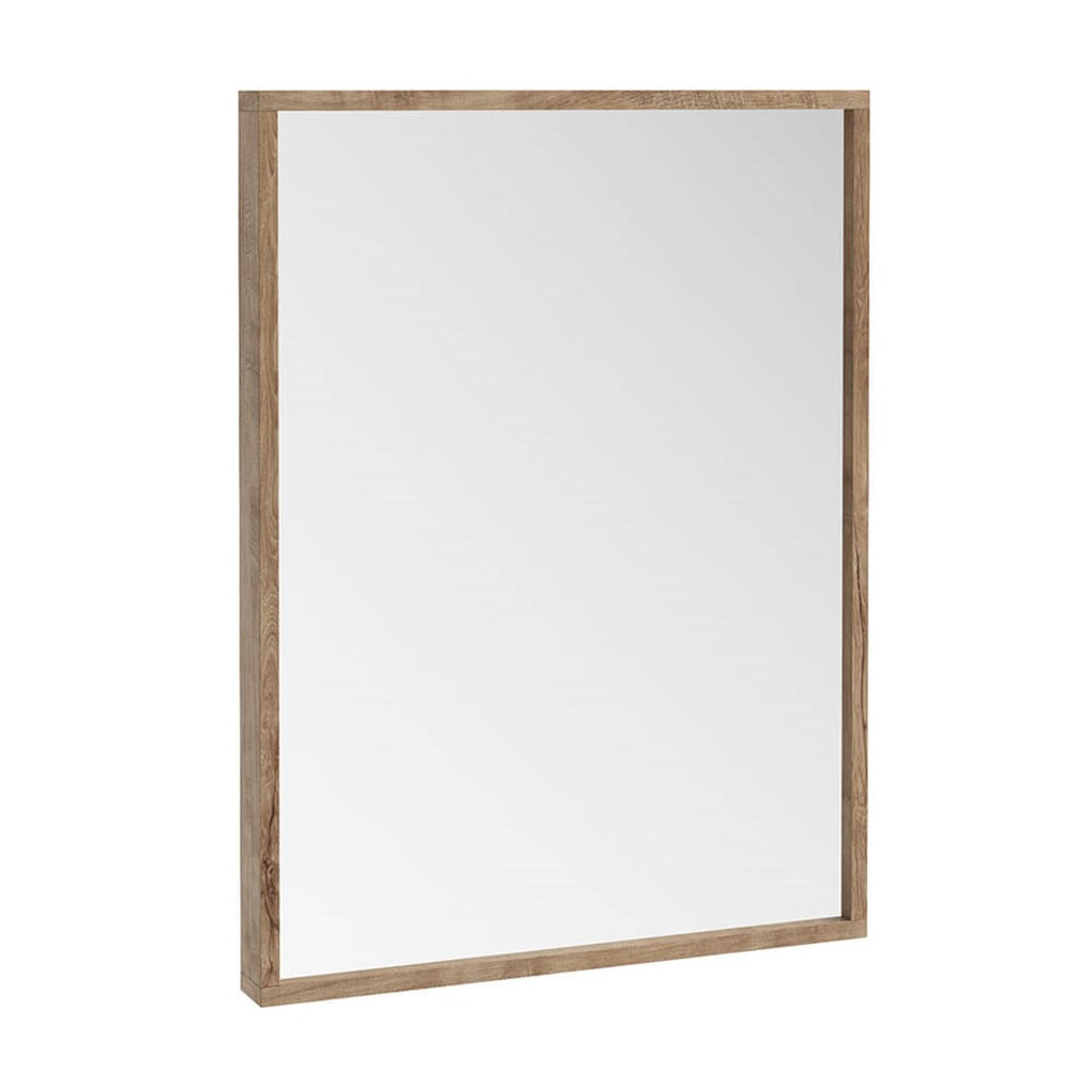 Ambience Rustic Oak Mirror 800 x 600mm