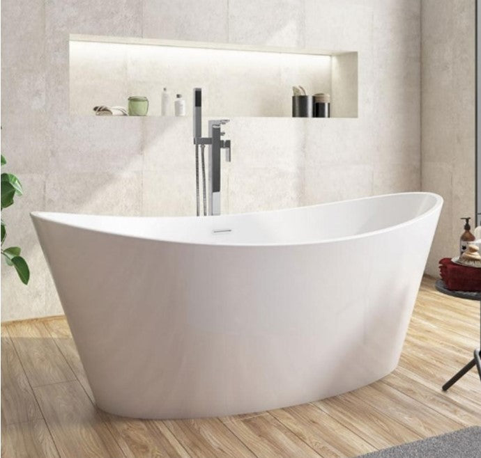 Aruba 1700 x 800mm Freestanding Bath White