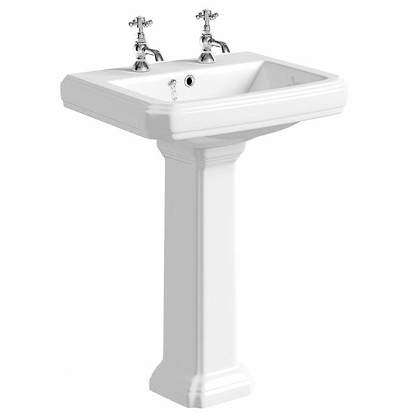 Astley Traditional Basin and Full Pedestal