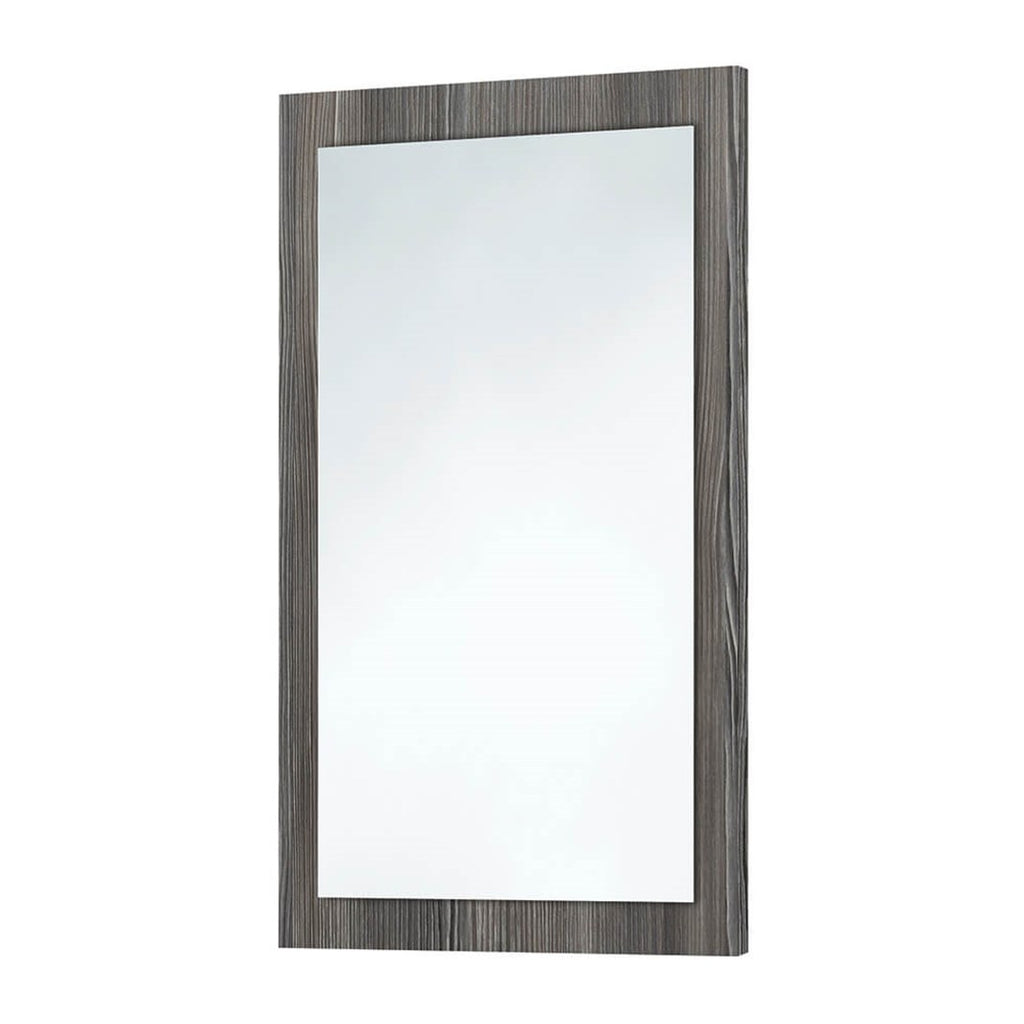 Avola Grey Wooden Frame Mirror 500 x 800mm