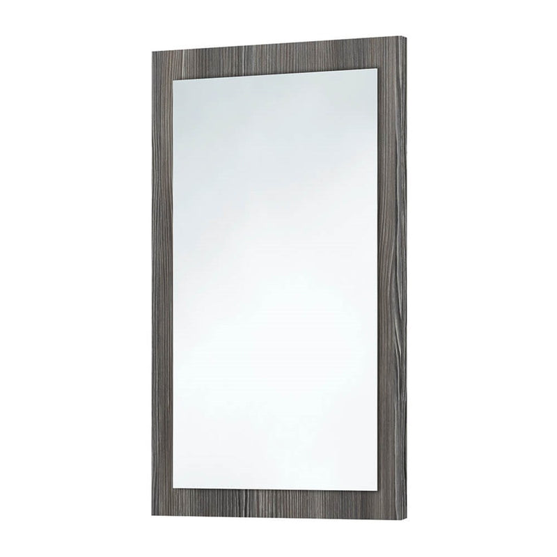 Avola Grey Wooden Frame Mirror 600 x 900mm