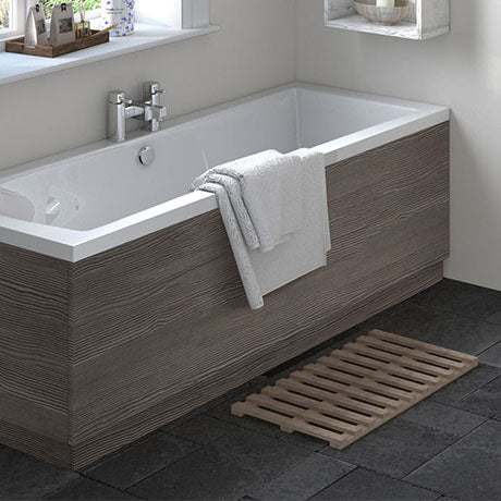Avola Grey Wooden Bath Panels