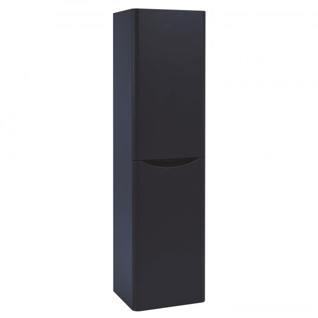 Bella Indigo Blue Wall Mounted Tall Storage Unit
