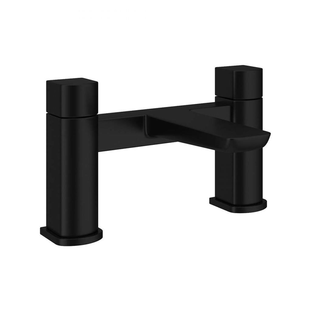 Muro Bath Filler Black