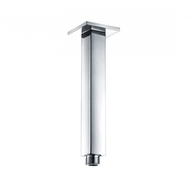 Square Ceiling Mounted Arm Chrome