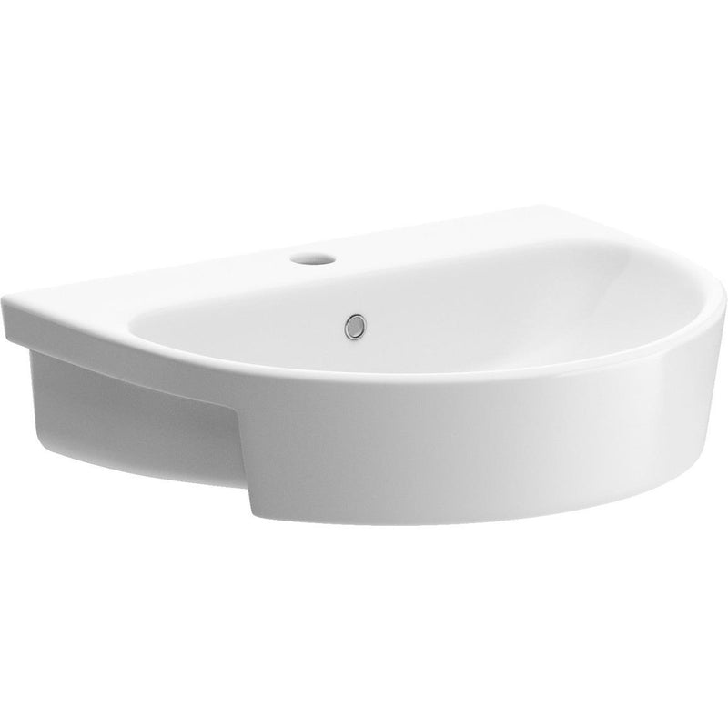 Cilantro 555mm Semi Recess Basin