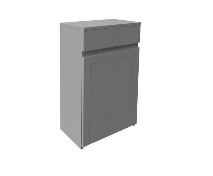 Classica 500mm WC Unit Stone Grey