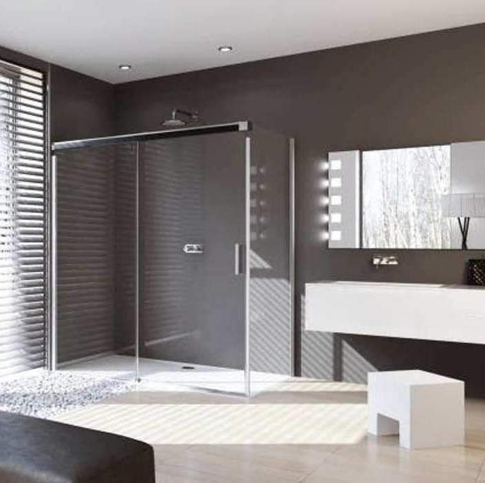 Huppe Design Pure 1400mm Sliding Door with 800mm Side Panel