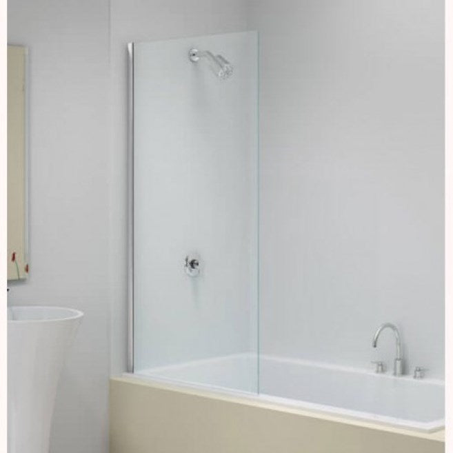 Merlyn Fixed Straight Bath Screen, Square Edge