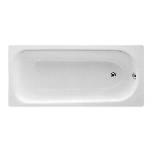 EUROWA STEEL SINGLE END BATH 1600 X 700MM