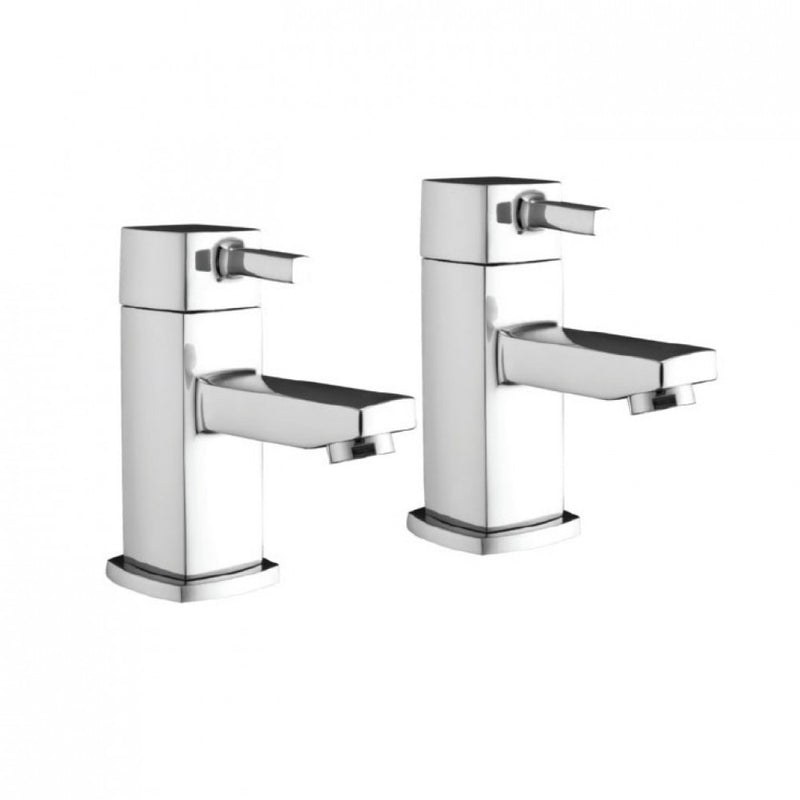 Forme Pair Of Basin Taps Chrome