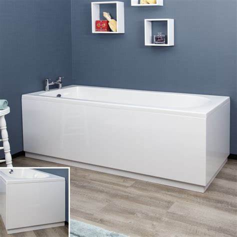 Halite Waterproof Bath Panels White Gloss, choice of sizes
