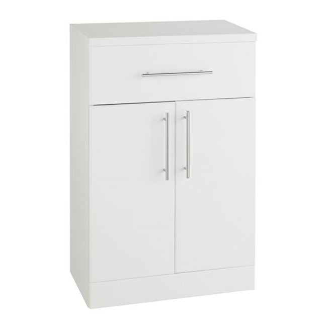 Encore Double Door Base Unit 500 x 330mm White Gloss