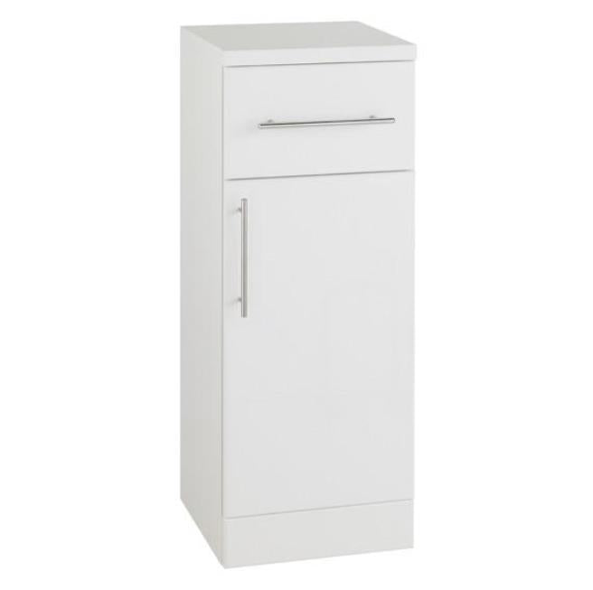 Encore Single Door Base Unit 300 x 330mm White Gloss