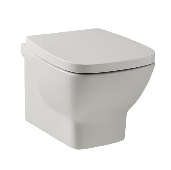 POT656EV and POT652EV Kartell Evoque Wall Hung WC with Soft Close Seat
