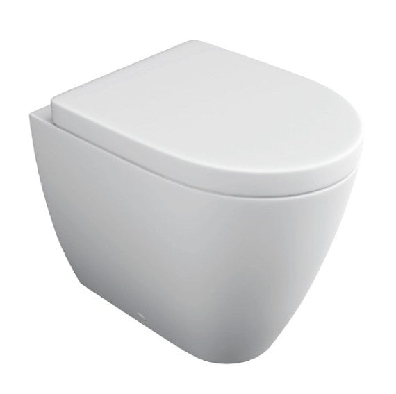 Genoa Back-To-Wall Toilet with Soft Close Seat