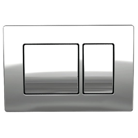 Chrome Flush Plate